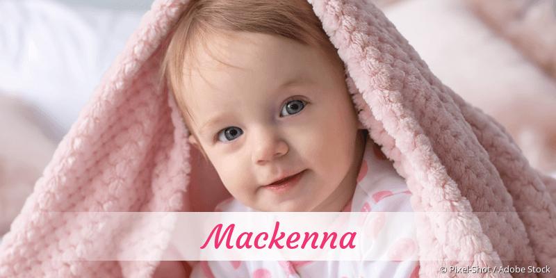 Name Mackenna als Bild