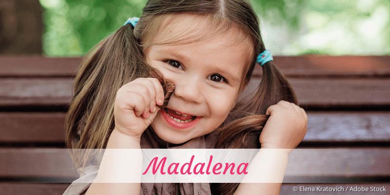 Name Madalena als Bild