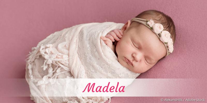 Name Madela als Bild