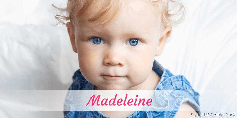 Name Madeleine als Bild
