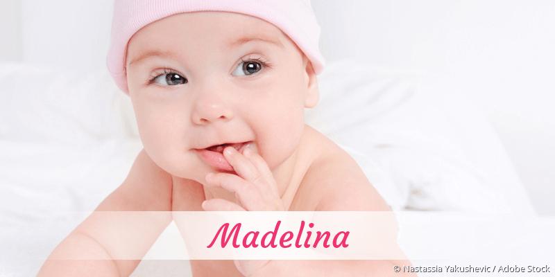 Name Madelina als Bild