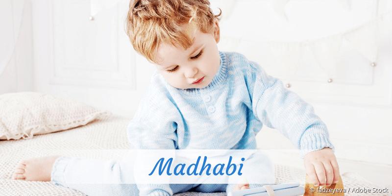 Name Madhabi als Bild