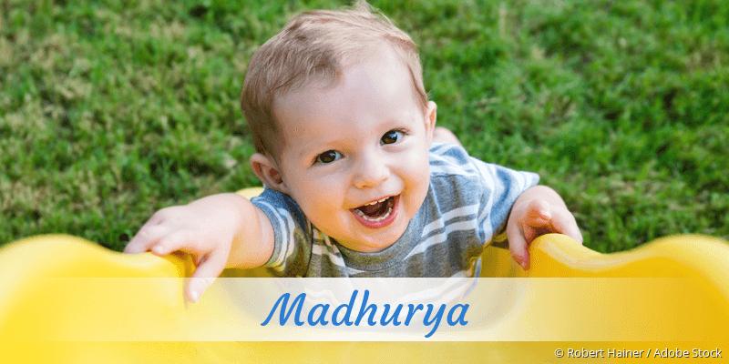 Name Madhurya als Bild