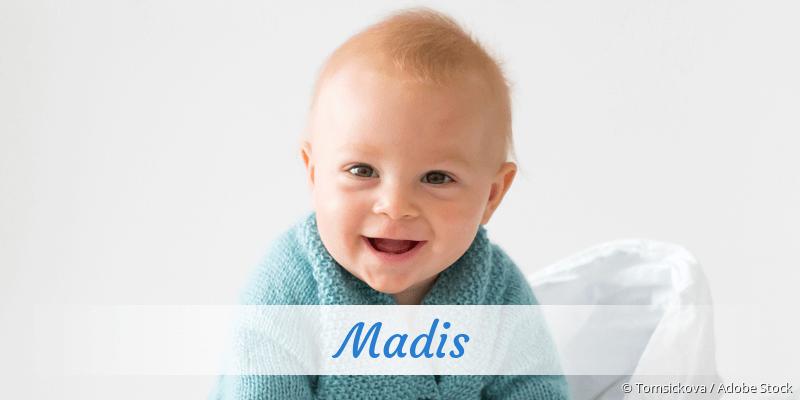 Name Madis als Bild