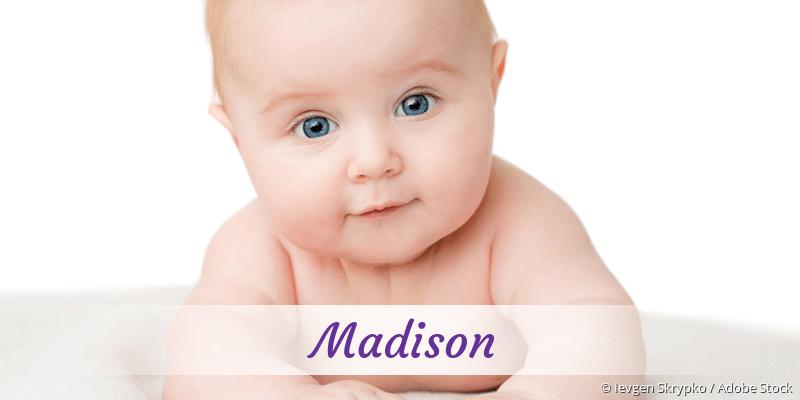 Name Madison als Bild