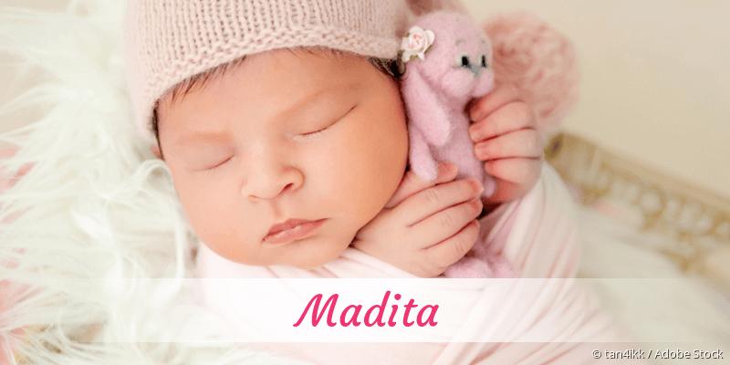 Name Madita als Bild