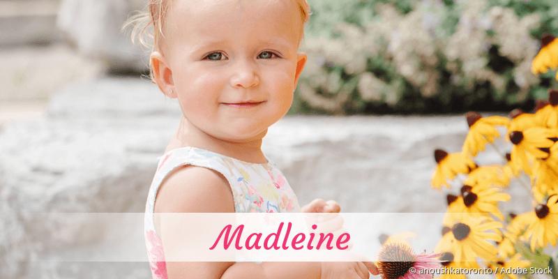 Name Madleine als Bild