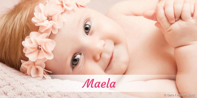 Name Maela als Bild