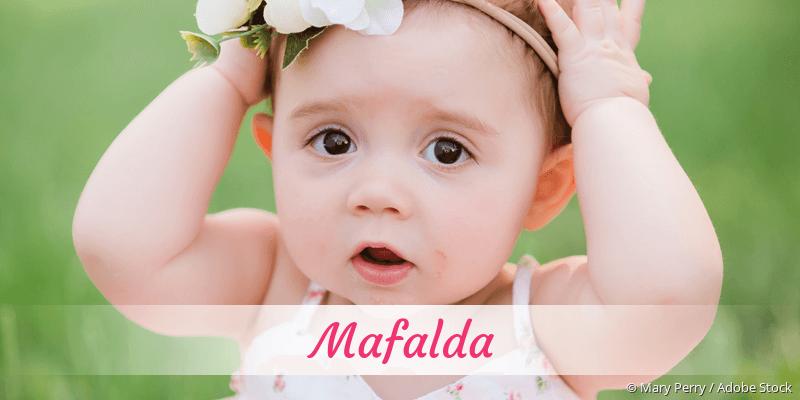 Name Mafalda als Bild