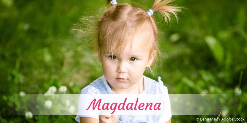Name Magdalena als Bild
