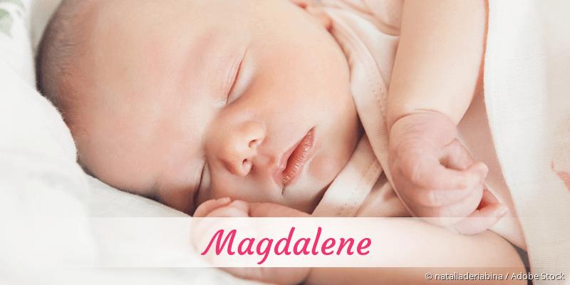Name Magdalene als Bild