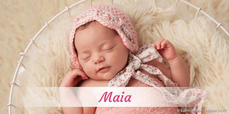 Name Maia als Bild