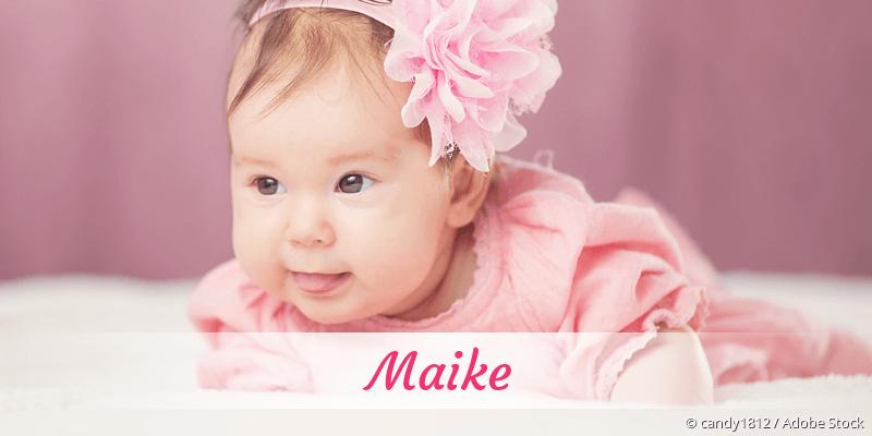Name Maike als Bild