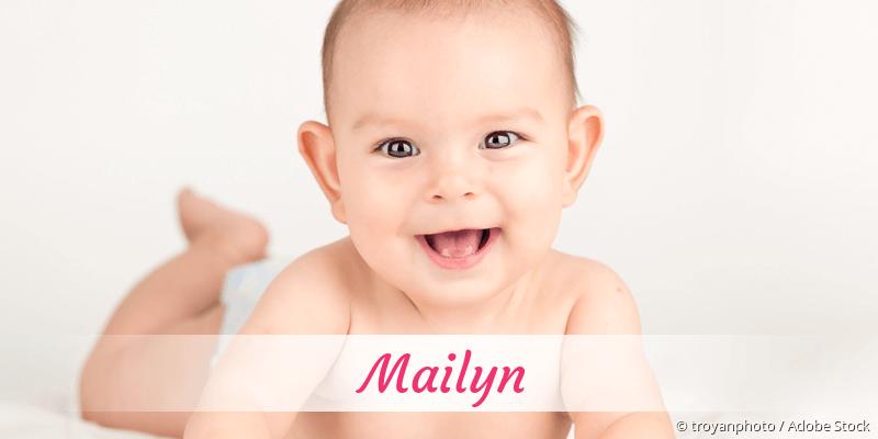 Name Mailyn als Bild