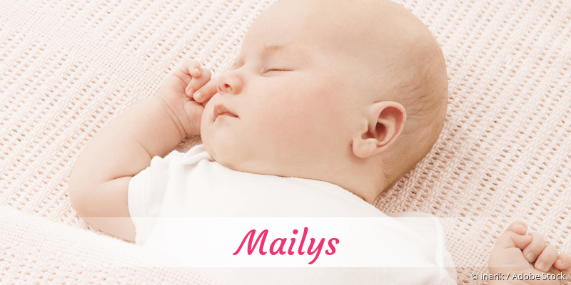 Name Mailys als Bild