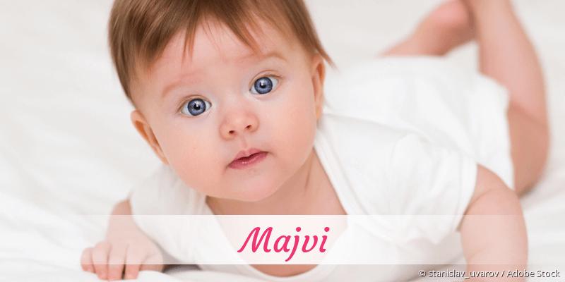Name Majvi als Bild