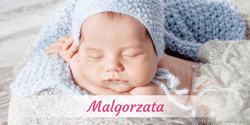 Name Malgorzata als Bild