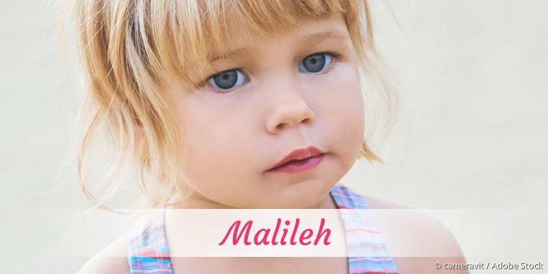 Name Malileh als Bild