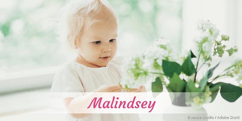 Name Malindsey als Bild