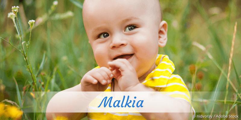 Name Malkia als Bild