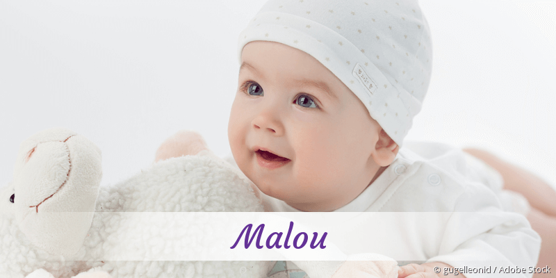 Name Malou als Bild