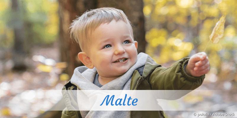 Name Malte als Bild