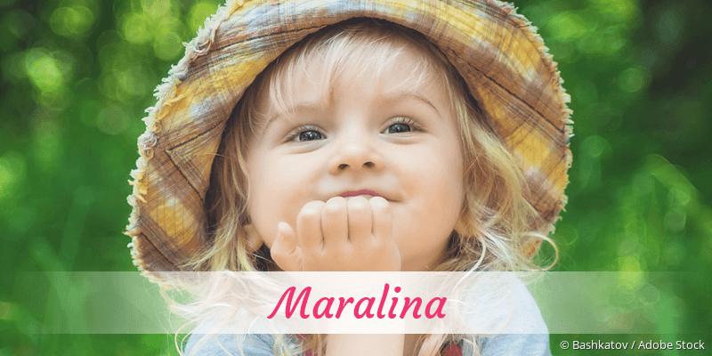 Name Maralina als Bild