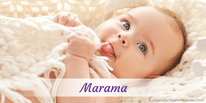 Name Marama als Bild