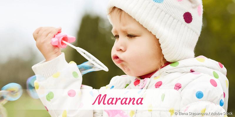 Name Marana als Bild