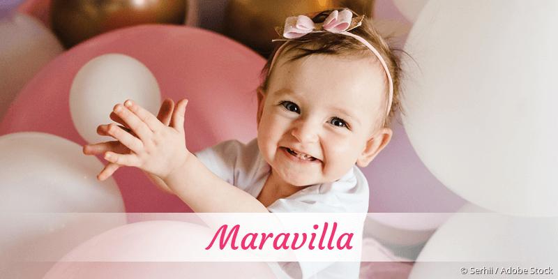 Name Maravilla als Bild