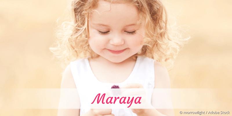 Name Maraya als Bild