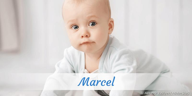 Name Marcel als Bild