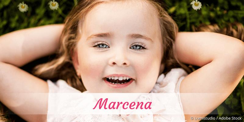 Name Marcena als Bild
