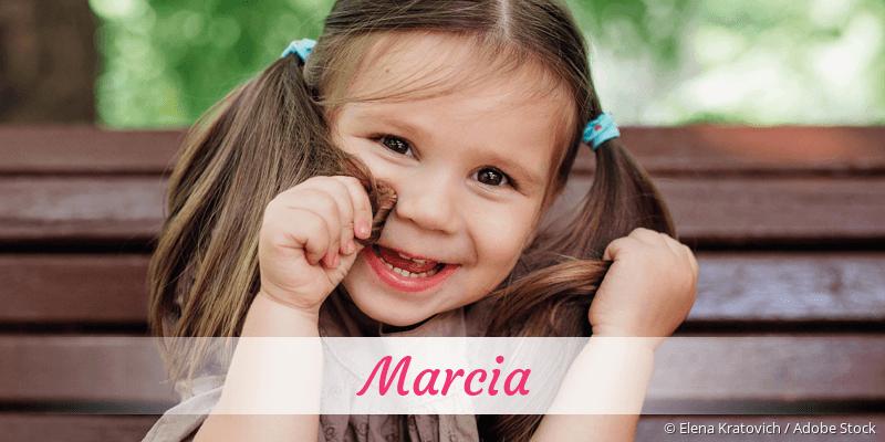 Name Marcia als Bild