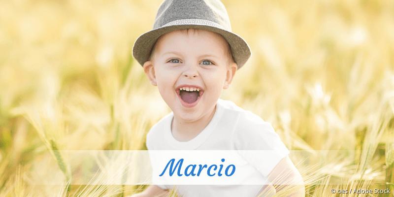 Name Marcio als Bild
