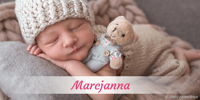 Name Marcjanna als Bild
