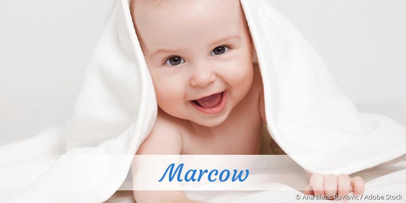 Name Marcow als Bild