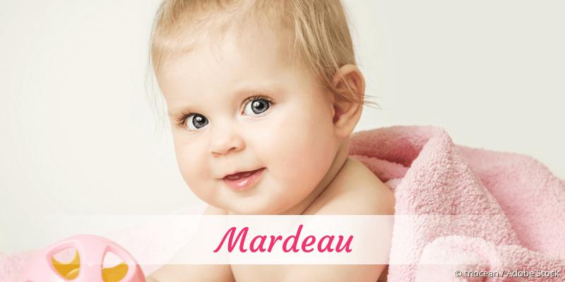 Name Mardeau als Bild