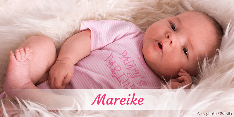 Name Mareike als Bild