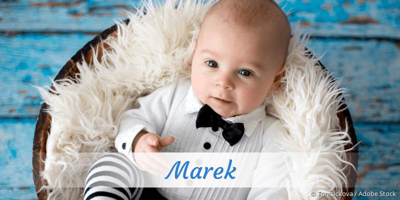 Name Marek als Bild