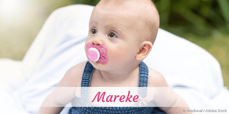 Name Mareke als Bild