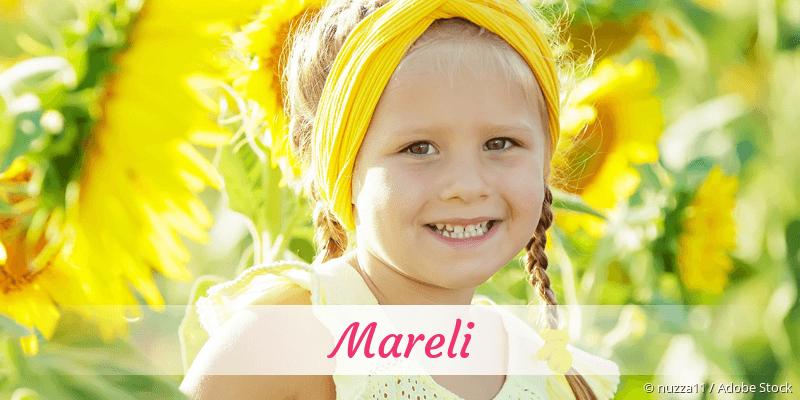 Name Mareli als Bild