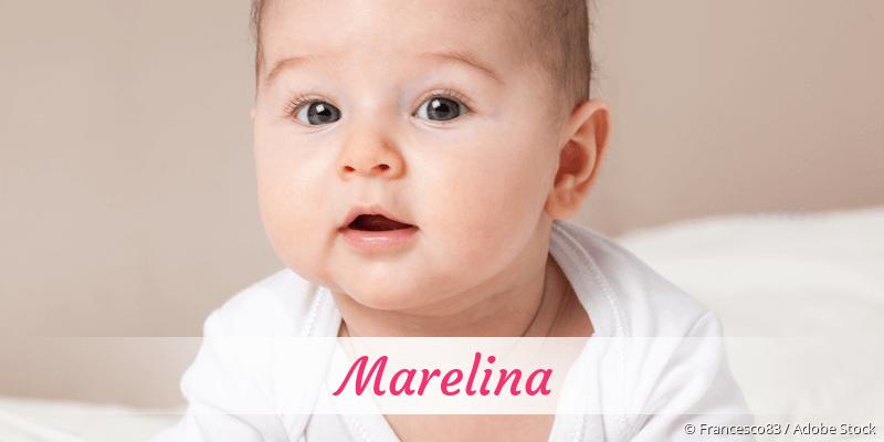 Name Marelina als Bild