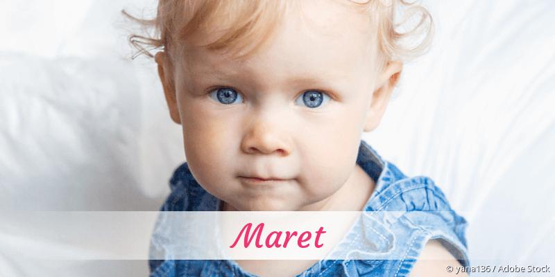 Name Maret als Bild