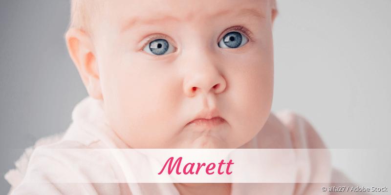 Name Marett als Bild