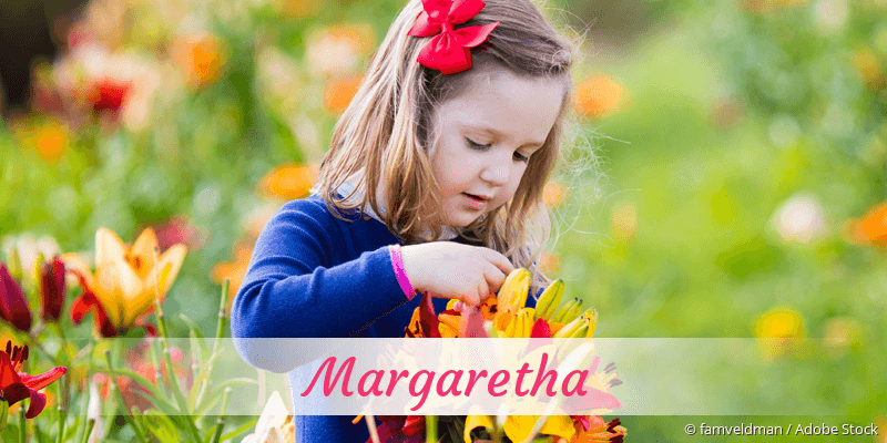 Name Margaretha als Bild