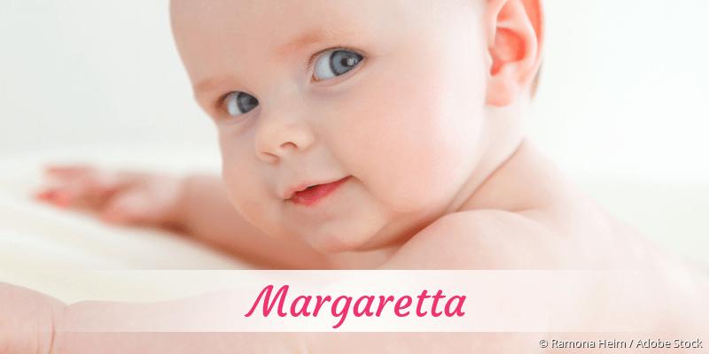 Name Margaretta als Bild