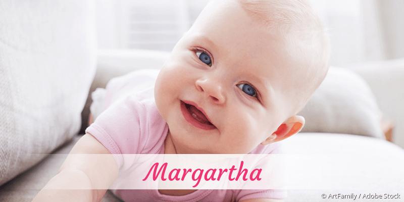 Name Margartha als Bild