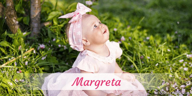 Name Margreta als Bild