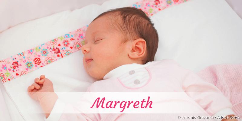 Name Margreth als Bild